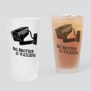 CCTV Big Brother Is Watching Drinking Glass
