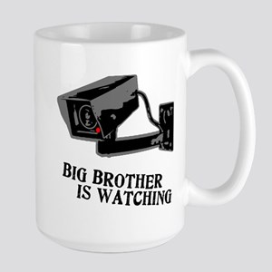 CCTV Big Brother Is Watching Large Mug
