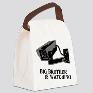 CCTV Big Brother Is Watching Canvas Lunch Bag