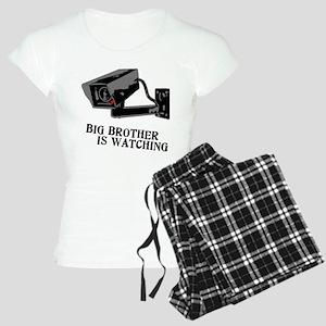 CCTV Big Brother Is Watching Women's Light Pajamas