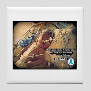 CDHscar01 Tile Coaster