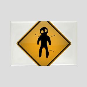 Voodoo Warning Sign Magnets