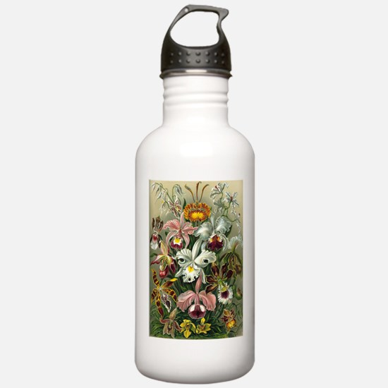 Victorian Orchids Water Bottle