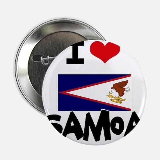 "I HEART SAMOA FLAG 2.25"" Button"