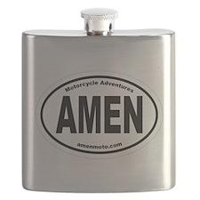 AmenOval Flask