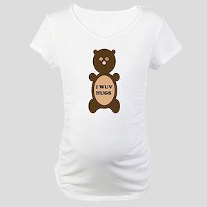 I WUV HUGS Maternity T-Shirt