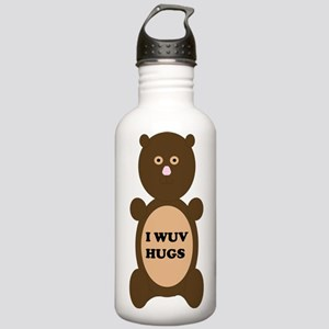 I WUV HUGS Water Bottle