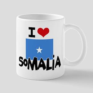 I HEART SOMALIA FLAG Mug
