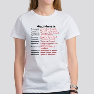 Amandanese Women's T-Shirt