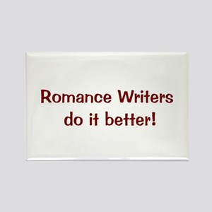 Romance Writer's rectangle magnet