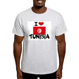 I HEART TUNISIA FLAG T-Shirt