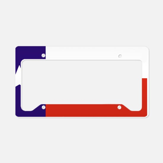 Texas Deluxe License Plate Holder