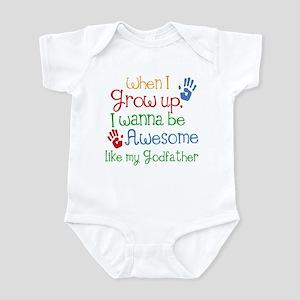 Awesome Godfather Infant Bodysuit