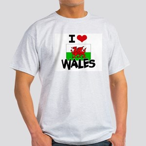 I HEART WALES FLAG T-Shirt