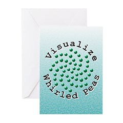 Visualize Whirled Peas 2 Greeting Cards (Pk of 20)