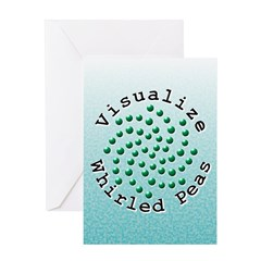 Visualize Whirled Peas 2 Greeting Card