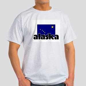I HEART ALASKA FLAG T-Shirt
