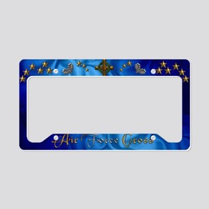 Harvest Moons Air Force Cross License plate Holder