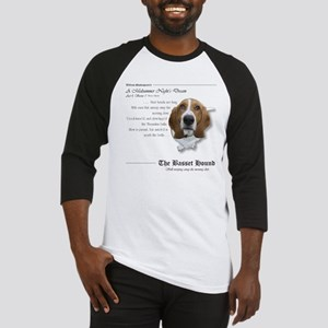 Shakespeare Basset Quote Baseball Jersey