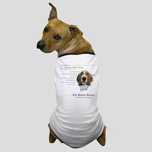 Shakespeare Basset Quote Dog T-Shirt