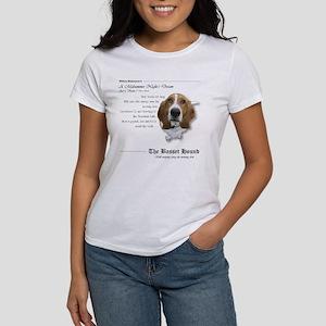 Shakespeare Basset Quote Women's T-Shirt