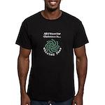 Christmas Peas 2 Men's Fitted T-Shirt (dark)