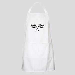Racing Checkered Flags Apron