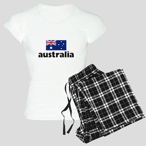 I HEART AUSTRALIA FLAG Pajamas