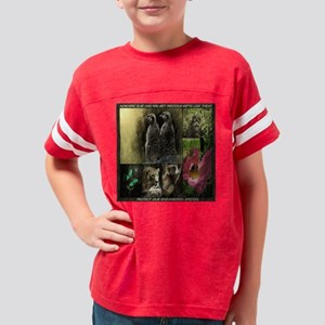 PRECIOUS GIFTS-ENDANGERED SPE Youth Football Shirt