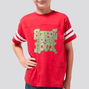 2-schoolhouserock_gray_REVERS Youth Football Shirt