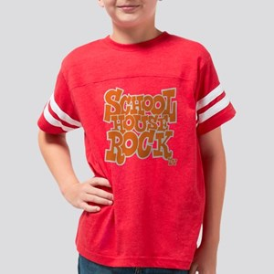 2-schoolhouserock_orange_REVE Youth Football Shirt