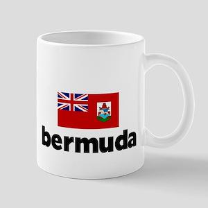 I HEART BERMUDA FLAG Mug