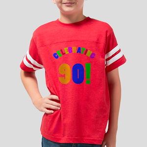 Rainbow 90 Youth Football Shirt