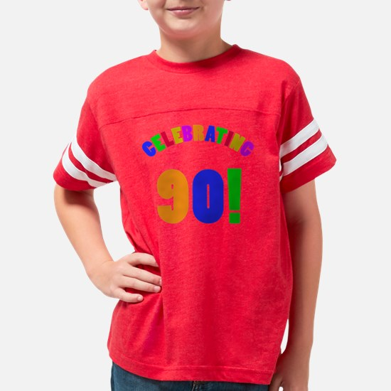 Rainbow 90 Youth Football Shirt