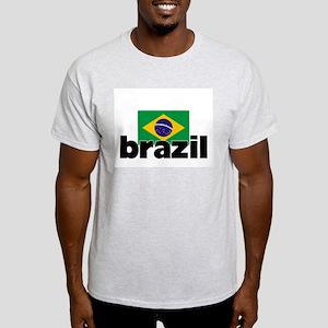 I HEART BRAZIL FLAG T-Shirt