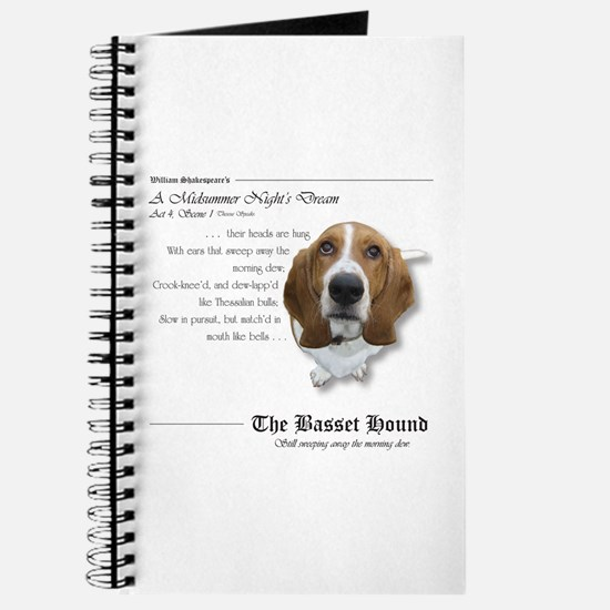 Shakespeare Basset Quote Journal