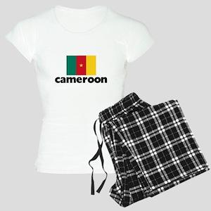 I HEART CAMEROON FLAG Pajamas