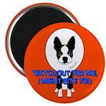 SAD HENRY BOSTON TERRIER DOG Magnet