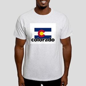 I HEART COLORADO FLAG T-Shirt