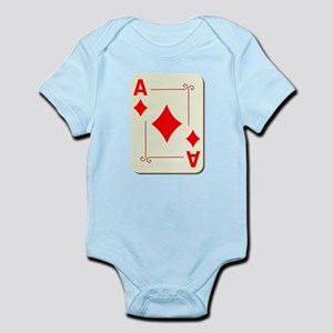 Ace of Diamonds Playing Card Body Suit