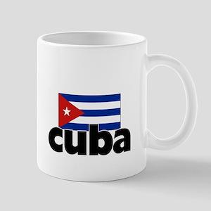 I HEART CUBA FLAG Mug