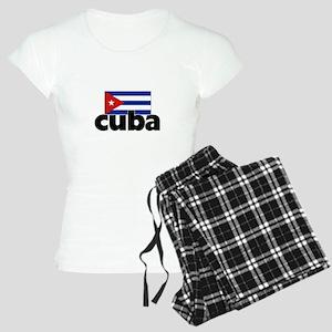 I HEART CUBA FLAG Pajamas