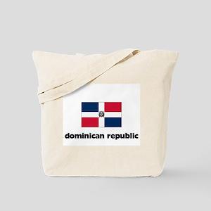 I HEART DOMINICAN REPUBLIC FLAG Tote Bag