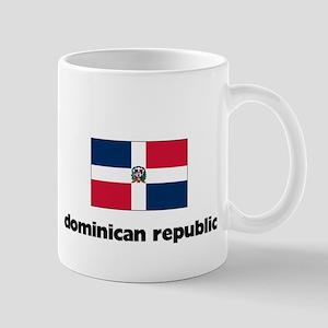 I HEART DOMINICAN REPUBLIC FLAG Mug