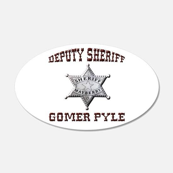 Deputy Gomer Pyle Wall Decal