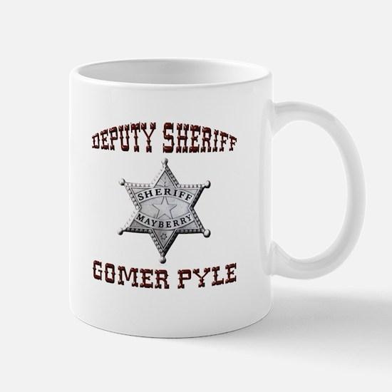 Deputy Gomer Pyle Mugs