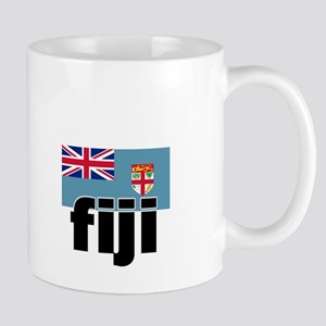 I HEART FIJI FLAG Mug