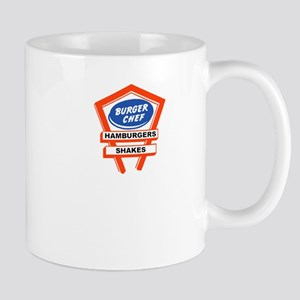 Vintage Burger Chef restaurant signage Mugs