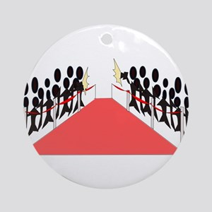 Red Carpet Event Ornament (Round)