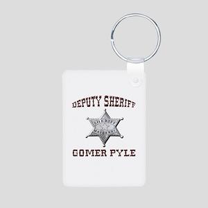 Deputy Gomer Pyle Keychains